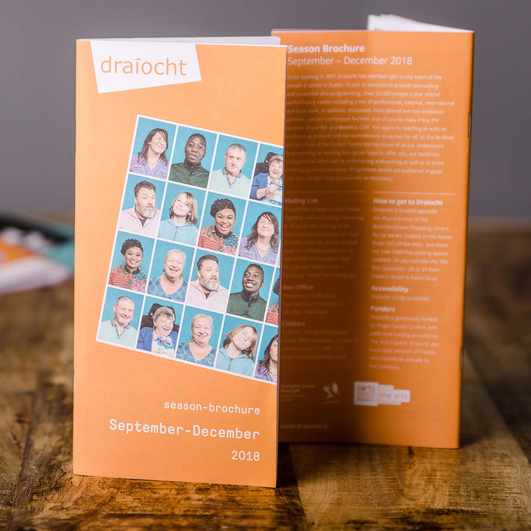 DL printed booklet - printing in dublin